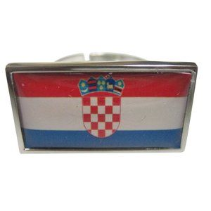 Croatia Flag Fashion Ring